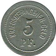 5 Pfennig - Ohrdruf (Gefangenenlager) – reverse