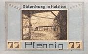 75 Pfennig (I. Iwersen) – reverse