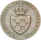 1 Silbergroschen - Paul Friedrich August – obverse