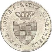 2½ Silber Groschen - Paul Friedrich August – obverse