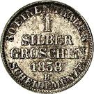 1 Silbergroschen - Paul Friedrich August – reverse