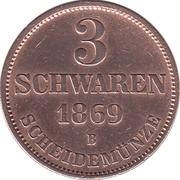 3 Schwaren - Nicolaus Friedrich Peter – reverse