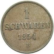 1 Schwaren - Nikolaus Friedrich Peter – reverse