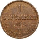 1 Schwaren - Nicolaus Friedrich Peter – reverse