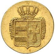 2 Grote - Peter Friedrich Ludwig (Gold Pattern) – obverse