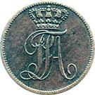 1 Schwaren - Paul Friedrich August – obverse