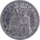 1 Groschen - Nicolaus Friedrich Peter – obverse
