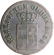 ½ Grote - Paul Friedrich August – obverse