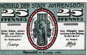25 Pfennig (Ahrensbök) – obverse