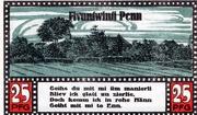 25 Pfennig (Ahrensbök) – reverse
