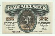 50 Pfennig (Ahrensbök) – obverse