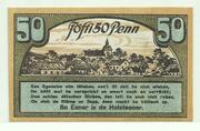50 Pfennig (Ahrensbök) – reverse