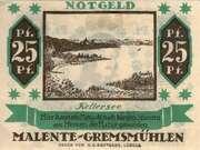 25 Pfennig (Malente-Gremsmühlen) – obverse