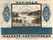 50 Pfennig (Malente-Gremsmühlen) – reverse