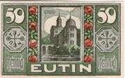 50 Pfennig (Eutin) – obverse
