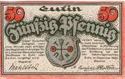 50 Pfennig (Eutin) – reverse