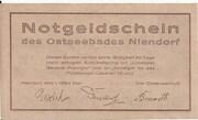 50 Pfennig (Niendorf) – reverse