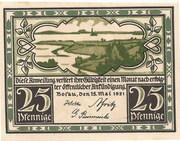 25 Pfennig (Bosau) – obverse