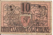 10 Pfennig (Oldenburg; Handelskammer) – obverse