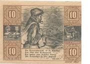 10 Pfennig (Land Birkenfeld) – reverse