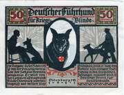 50 Pfennig (Oldenburg; Deutscher Verein für Sanitätshunde) – obverse