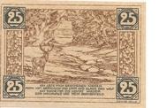 25 Pfennig (Land Birkenfeld) – reverse