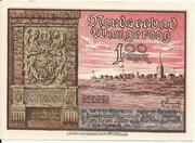100 Pfennig (Wangeroog) – obverse
