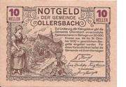 10 Heller (Ollersbach) – obverse