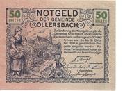 50 Heller (Ollersbach) – obverse