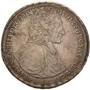 1 Thaler - Wolfgang von Schrattenbach – obverse