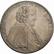 1 Thaler - Jakob Ernst von Lichtenstein-Kastelkorn – obverse