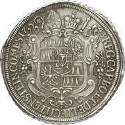 1 Thaler - Jakob Ernst von Liechtenstein-Kastelkorn – reverse