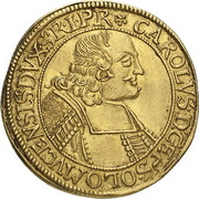 1 Ducat - Karl II von Liechtenstein-Kastelkorn – obverse