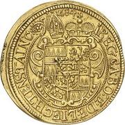 1 Ducat - Karl II von Liechtenstein-Kastelkorn – reverse