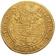 2 Ducat - Karl II von Liechtenstein-Kastelkorn – reverse