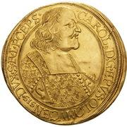 5 Ducat - Karl II von Liechtenstein-Kastelkorn – obverse
