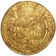 5 Ducat - Karl II von Liechtenstein-Kastelkorn – reverse