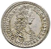 3 kreuzer Karl III Joseph von Lothringen – obverse
