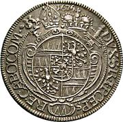 15 Kreuzer - Karl II von Liechtenstein-Kastelkorn – reverse