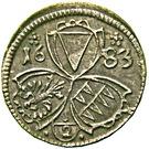 ½ Kreuzer - Karl II von Liechtenstein-Kastelkorn – obverse