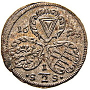 ½ Kreuzer - Karl II von Liechtenstein-Kastelkorn (Kremsier) – obverse