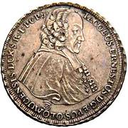 ½ Thaler - Jakob Ernst von Liechtenstein-Kastelkorn – obverse