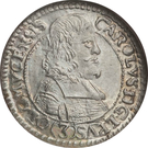 3 Kreuzer - Karl II von Liechtenstein-Kastelkorn – obverse