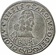 6 Kreuzer - Karl II von Liechtenstein-Kastelkorn – obverse