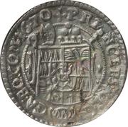 3 Kreuzer - Karl II von Liechtenstein-Kastelkorn – reverse