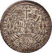 1 Thaler - Wolfgang von Schrattenbach – reverse