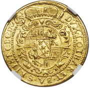 1 Ducat - Karl III Joseph von Lothringen – reverse