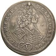 15 Kreuzer - Karl III Joseph von Lothringen – obverse