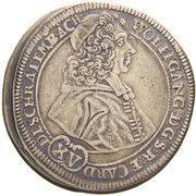 15 Kreuzer - Wolfgang von Schrattenbach – obverse