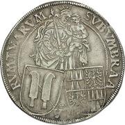 ½ Thaler - Franz von Dietrichstein – reverse